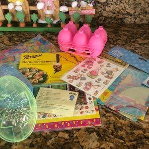 Easter decorating fun